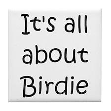 Unique Birdie Tile Coaster