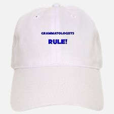 Grammatologists Rule! Baseball Baseball Cap