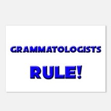 Grammatologists Rule! Postcards (Package of 8)
