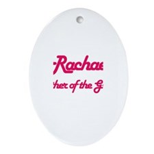 Rachael - Mother of Groom Oval Ornament
