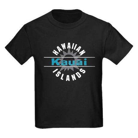 Kauai Hawaii Kids Dark T-Shirt