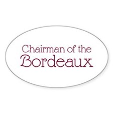 Chairman of the Bordeaux Oval Decal