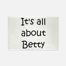 Unique Betty Rectangle Magnet