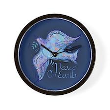 Dove of Peace Wall Clock