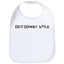 Do It Donkey Style Bib