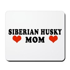 Siberian Husky Mom Mousepad