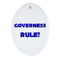 Governess Rule! Oval Ornament