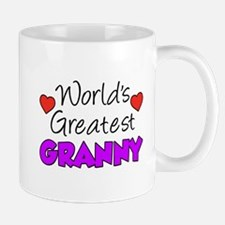 World's Greatest Granny Drinkware Mugs