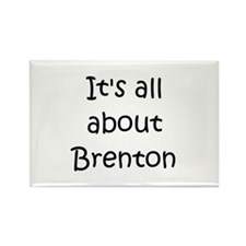 Funny Brenton Rectangle Magnet