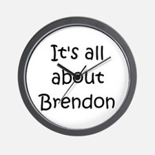 Cool Brendon Wall Clock