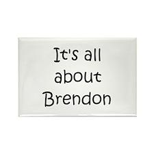 Funny Brendon Rectangle Magnet