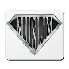 SuperMuslim(metal) Mousepad
