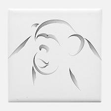 Chimp Tile Coaster