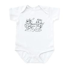 Police Cat Infant Bodysuit