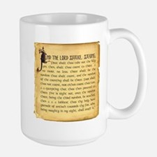 Holy Grenade Large Mug