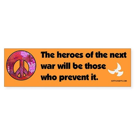 Peacemakers Bumper Sticker