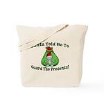 Guard Presents Tote Bag