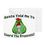 Guard Presents Greeting Card