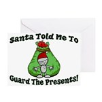 Guard Presents Greeting Cards (Pk of 10)
