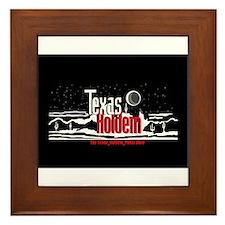 Texas Holdem Framed Tile