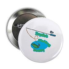 """Zaydie's Fishing Buddy 2.25"""" Button (100 pack)"""