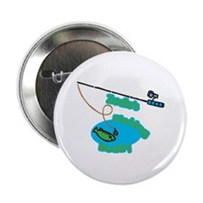 "Zadie's Fishing Buddy 2.25"" Button"