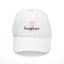 Josephine pink ribbon Baseball Cap