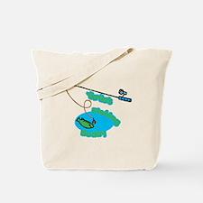 YiaYia's Fishing Buddy Tote Bag