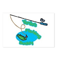YiaYia's Fishing Buddy Postcards (Package of 8)