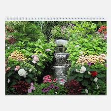 12 Month Flowers & Gardens Wall Calendar