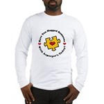 Have You Hugged Asperger's Long Sleeve T-Shirt