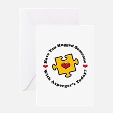 Have You Hugged Asperger's Greeting Card