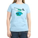 VaVa's Fishing Buddy Women's Light T-Shirt