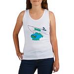 VaVa's Fishing Buddy Women's Tank Top