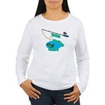 VaVa's Fishing Buddy Women's Long Sleeve T-Shirt