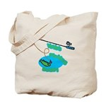 VaVa's Fishing Buddy Tote Bag