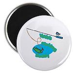VaVa's Fishing Buddy Magnet