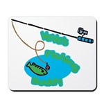 VaVa's Fishing Buddy Mousepad