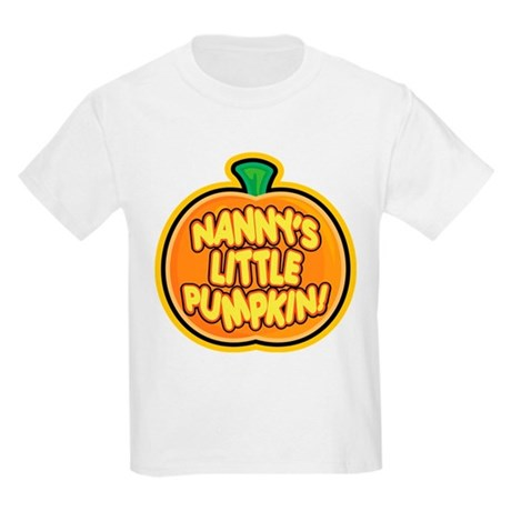 NANNY'S LITTLE PUMPKIN! Kids Light T-Shirt