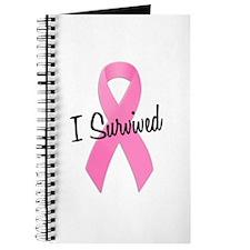 Pink Ribbon I Survived Journal