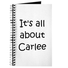 Funny Carlee Journal