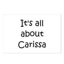 Cool Carissa Postcards (Package of 8)
