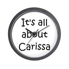 Unique Carissa Wall Clock