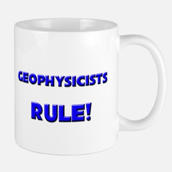 Geophysicists Rule! Mug