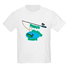 Poppy's Fishing Buddy T-Shirt