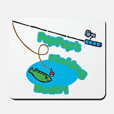 PapPap's Fishing Buddy Mousepad