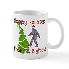 Bigfoot Christmas Mug