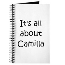 Funny Camilla Journal