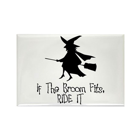If the Broom Fits Rectangle Magnet