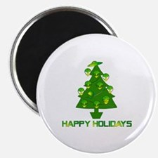 Alien Christmas Tree Magnet